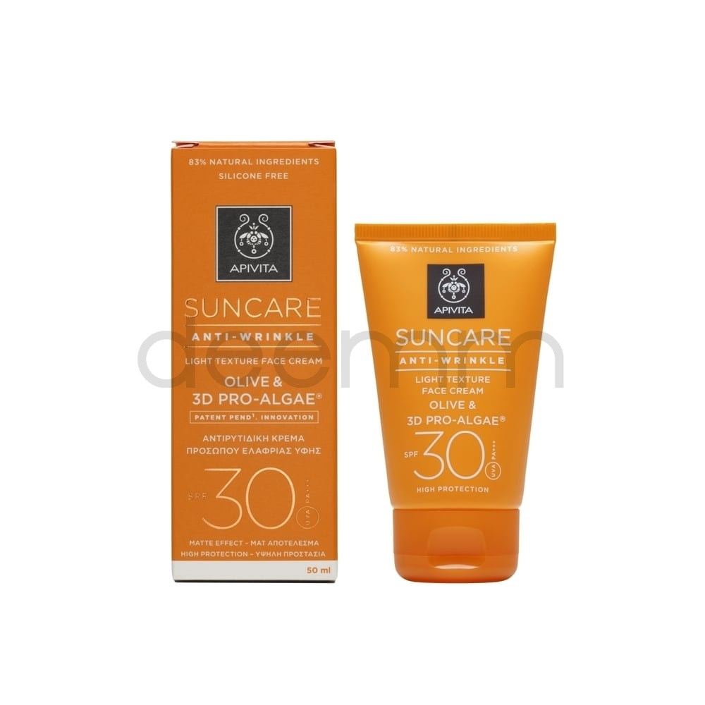 APIVITA SUNCARE Anti Wrinkle SPF30, 50ml